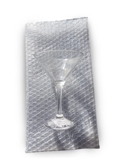 Martini Glass - Bubble Bag - W170mm x H320mm - 10 Pack