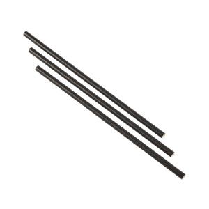 Paper Straws Black 14cm (500pcs)