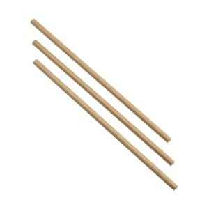 Paper Straws Brown 20cm (500pcs)