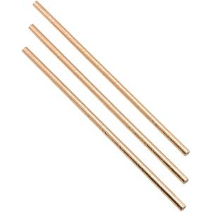 Paper Straws Copper 20cm (500pcs)