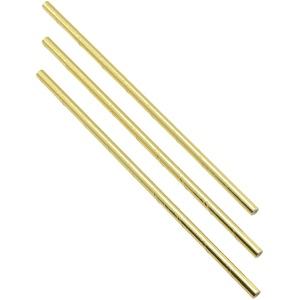 Paper Straws Gold 20cm (500pcs)