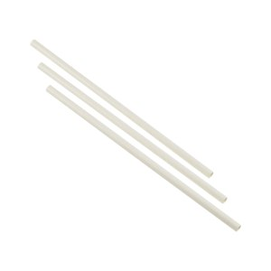 Paper Straws White 23cm (250pcs)