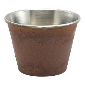 2.5oz Rust Effect Ramekin