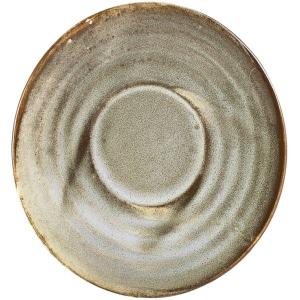 Terra Porcelain Grey Saucer 11.5cm