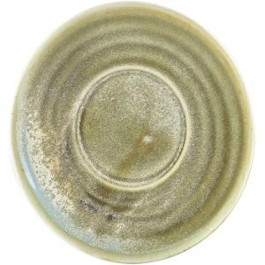 Terra Porcelain Matt Grey Saucer 14.5cm