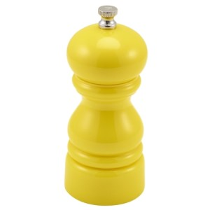 GenWare Salt Or Pepper Grinder Yellow 12.7cm