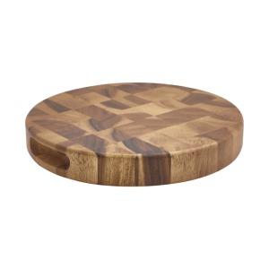 Acacia Wood End Grain Chopping Board 11 x 1.5""