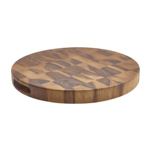 Acacia Wood End Grain Chopping Board 15 x 1.5""