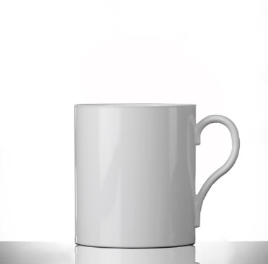 Elite Polycarbonate Plastic 12oz White Mugs - Pack of 24