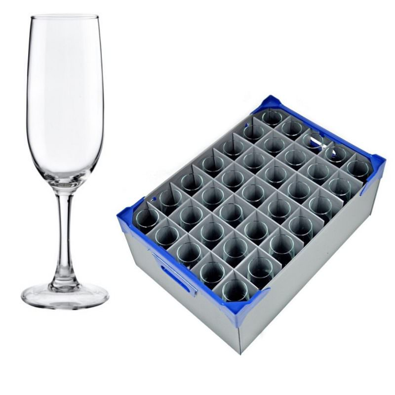 Champagne Flute Glass and Glassjacks Combo
