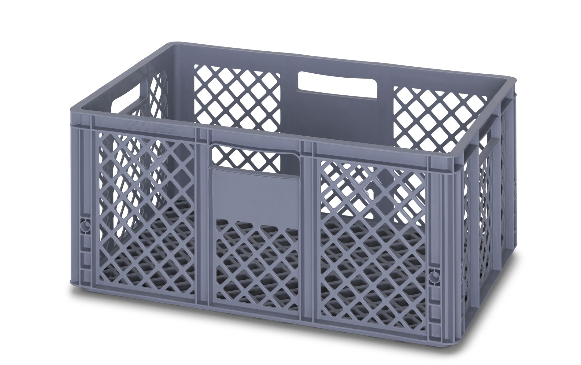 Vented Euro Crate Container