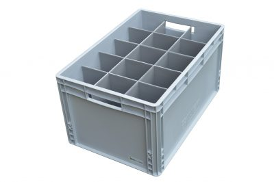 Beer Pint Glass Storage Crate