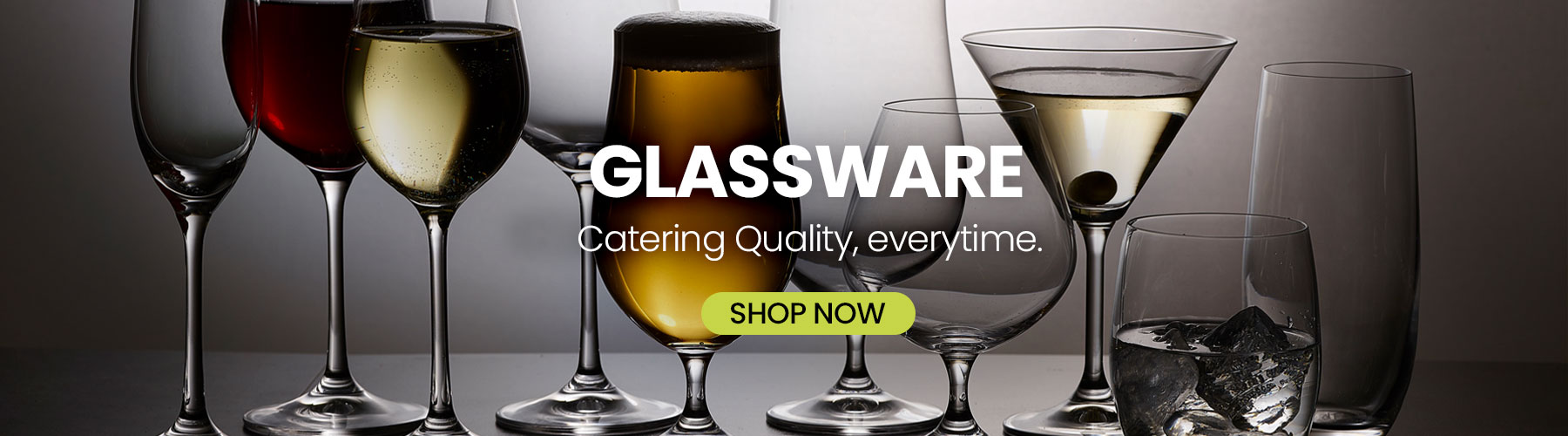 Catering-Quality-Glassware-wine glasses-champagne flutes