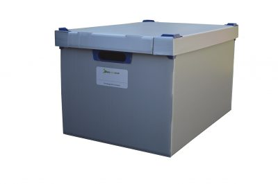 7. Extra Large Correx Stacking Storage Boxes, Pack of 1, Height 295mm