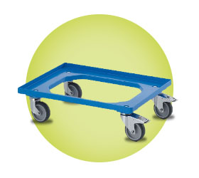 Transport Trolley for Glassjacks