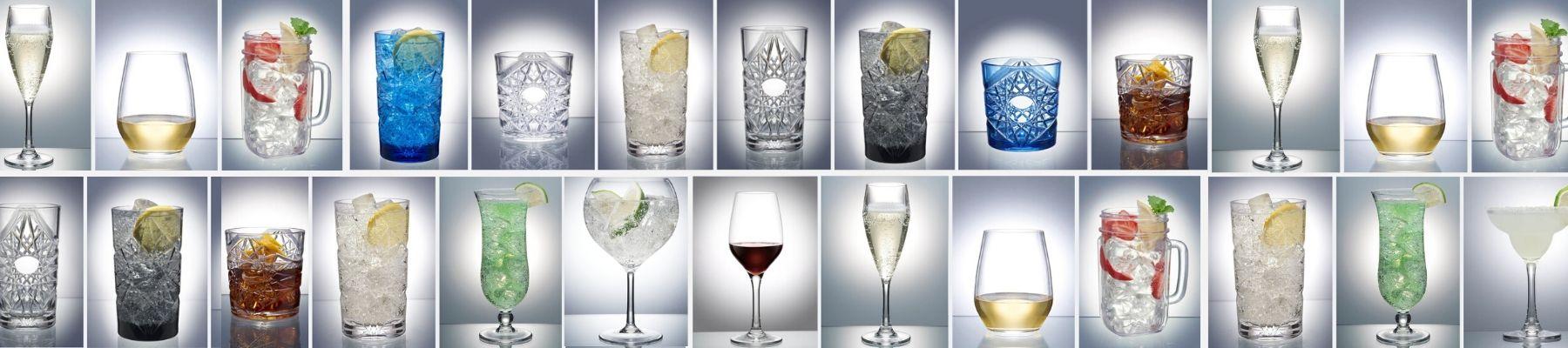 Plastic Gin Glasses UK