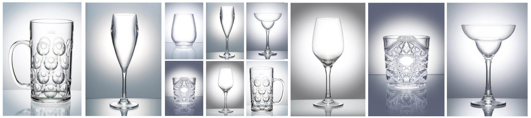 Reusable Plastic Glasses