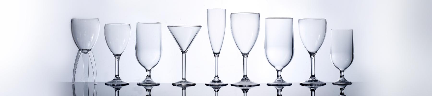 Reusable Plastic Wine Glasses