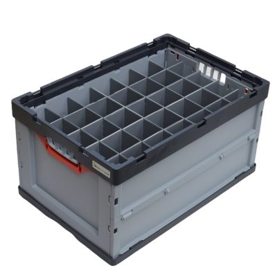 Folding Glass Storage Container