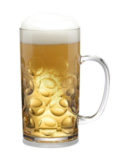 Traditional German Stein Beer Mug 0,5l / 54cl - 4 Pack