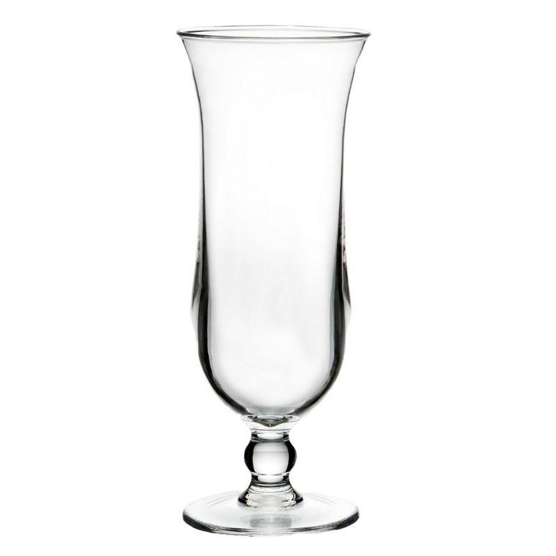 Crystal Plastic Cocktail Glasses Pina Colada / Hurricane - Pack of 4